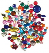 Forever In Time Gemstone Embellishments, Assorted Shapes, Colours and Sizes, 30gm