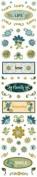 Finley's Estate Sparkle Scrapbook Stickers