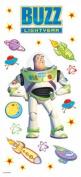 Sandylion Buzz Light Year Clear Sticker, 5.5 by 12