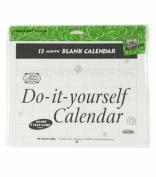 Do It Yourself Blank Calendar- 13 Months