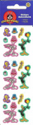 Looney Tunes Characters (Bugs Bunny, Tweety Bird, Daffy Duck) Birthday Sparkle Stickers