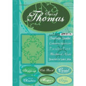 Saint Thomas Tropical Scrapbook Stickers