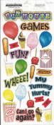 Food and Fun Scrapbook Stickers