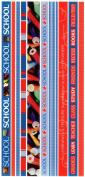 School Photo Banner Ribbon Border Scrapbook Stickers