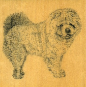 CHOW CHOW Rubber Stamp