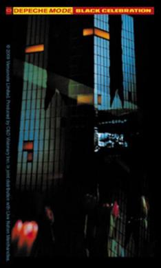Depeche Mode Black Celebration Sticker