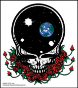 The Grateful Dead Space Your Face Sticker