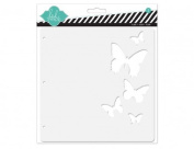 20cm Butterfly Chipboard Scrapbook Album // Heidi Swapp