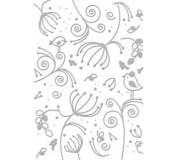 Serenity Collection (5x7) - Encaustic - Embossing Folder