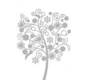 Serenity Collection (5x7) - Far Away Tree - Embossing Folder