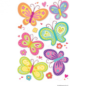 American Girl Crafts Butterflies Stacked Stickers
