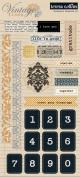 Teresa Collins Designs Vintage Finds Chipboard Elements 1