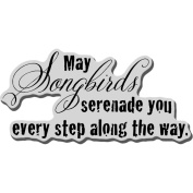Stampendous Cling Rubber Stamp 8.9cm x 10cm Sheet-Serenade