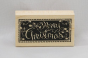 Wood Mounted Rubber Stamp LL