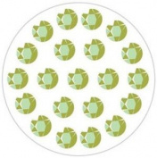 Advantus Corporation Heidi Swapp Bling Jewel Art Stickers, Flower Centres Martha 6/Package