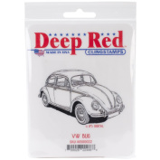 Deep Red Cling Stamp 5.7cm x 8.9cm -VW Bug