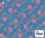 BLUEBIRD - Pomegranate print mulberry paper