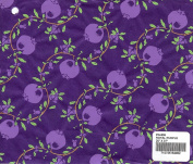 ROYAL PURPLE - Pomegranate print mulberry paper