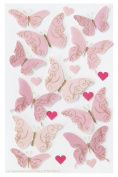 Martha Stewart Crafts Stickers, Valentine Butterfly
