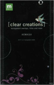 Clear Creations Overlays 4x6 Sheets, 20/Book