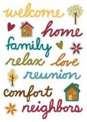 Family Time Epoxy Scrapbook Stickers