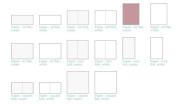 Lifestyle Crafts Letterpress Paper, Mini Fold Cream, 25 Sheets