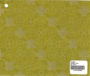 GREEN TEA - Flocked Dogwood Print Paper
