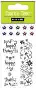 Happy Day Sparkle Clear Stamps (Hero Arts) CL169