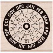 Hero Arts Mounted Rubber Stamps 4.4cm x 4.4cm -Calendar