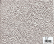 SILVER - Crinkled Metallic Momigami