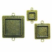 Spellbinders MB2-005 Media Mixage Squares Two, Bronze