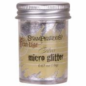 Stampemdous Micro Glitter .1980ml-Silver