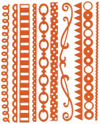 Bazzill Just The Edge 3 303208 Festive Cardstock