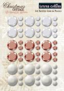 Teresa Collins Designs Christmas Cottage Faceted Rhinestones
