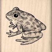Frog Rubber Stamp - 2.5cm - 1.3cm x 2.5cm - 1.3cm