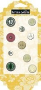 Teresa Collins Designs Fabrications Canvas Buttons