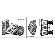 LaBlanche Silicone Stamps 3/Pkg-Collectables