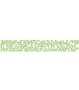 Sizzix Sizzlits Decorative Strip Die-Wingo Zingo Alphabet
