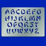 American Traditional Stainless Stencils - Beijing Alphabet