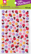 Fibre Craft - Creative Hands 1712F Smart Stickers, Flowers and Ladybugs