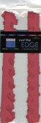 Bazzill Just The Edge 2 303003 Ruby Red Cardstock