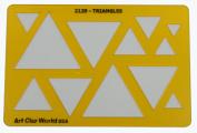 Artistic Design Template - Triangles