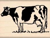 Cow Rubber Stamp - 2.5cm - 1.3cm x 5.1cm