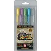 Gelly Roll Metallic Medium Point Pen, 5/Pkg
