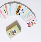 Francoise Matchbox Label Stickers - A