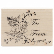 Penny Black Mounted Rubber Stamp 6.4cm x 8.3cm -To You & Yours