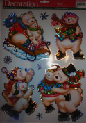 Christmas Window Clings~various assortments