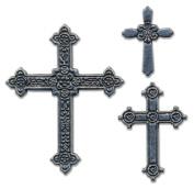 Momenta Small Metal Icon, Antinque Crosses