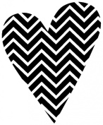 Hero Arts Woodblock Stamp, Patterned Heart