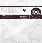 Bare Elements 12x12 Chipboard Die Cut Sheets, 3/Pkg